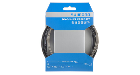 Shimano OT-SP41 Girkabel Road/Rustfri stål Svart